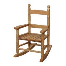 Child's Slat Rocking Chair