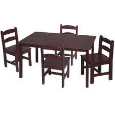 Kids 5 Piece Table & Chair Set