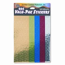 Valu-Pak Foil Stars Sticker (Set of 2)