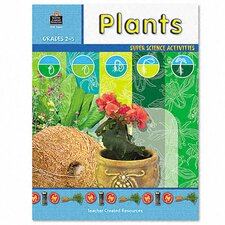 Super Science Activities/Plants, Grade 2-5, 48 pages