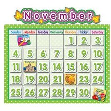 Polka Dot School Calendar