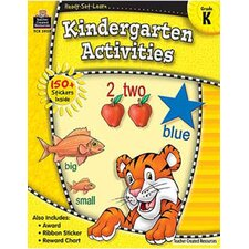 Ready Set Learn Kindergarten Book (Set of 3)