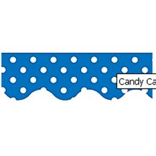 Blue Mini Polka Dots Classroom Border (Set of 3)