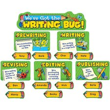 Weve Got The Writing Bug Mini Bb Bulletin Board Cut Out