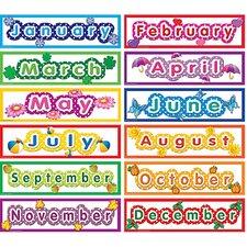 Polka Dot Months Headliners Calendar