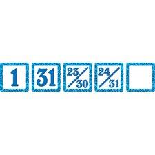 Blue Swirls Mini Packs Calendar Day Calendars Accessory (Set of 3)