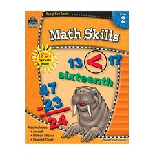 Ready-Set-Learn Math Skills Grade 2 Book (Set of 3)