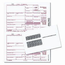Tax Forms/1099 Misc Tax Forms Kit with 24 Forms, 24 Envelopes, 1 Form 1096