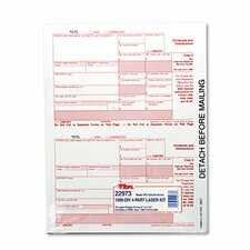 IRS Approved Tax Form Four-Part Carbonless, 75 Forms