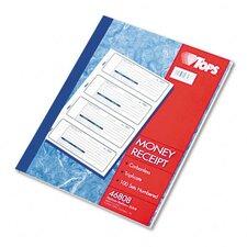 Money/Rent Receipt Books, Three-Part Carbonless, 100 Sets/Book
