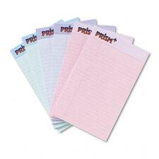 Prism Plus Colored Junior Legal Pads, 6 50-Sheet Pads/Pack