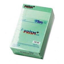 Prism Plus Colored Jr. Legal Pads, 50-Sheet Pads, 12/Pack