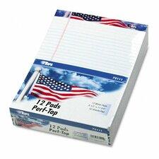 American Pride Writing Pad, Jr. Legal Rule, 50-Sheet