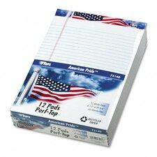 American Pride Writing Pad, Legal Rule, 50-Sheet 12/Pack