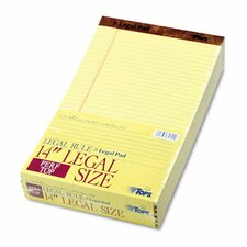 Perforated Pads, Legal Rule, Legal, 50 Sheets, 12-Pack