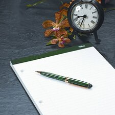 Double Docket Writing Pad, College Rule, Letter, 100 Sheets/Pad