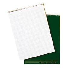"Quadrille Pad, 8-1/2""x11-3/4"", 70 Sheets, 4 Squares Per Inch, White"