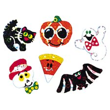 Sparkle Halloween Sparkles Sticker (Set of 4)