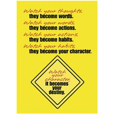 Watch Your Thoughts Poster (Set of 3)