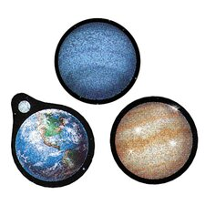 Sparkle Solar System Sticker (Set of 4)