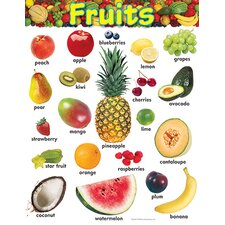 Learning Fruits Chart (Set of 3)