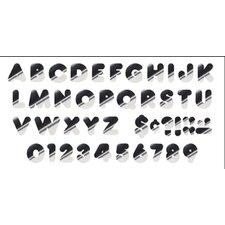 Ready Letters Casual Metallic Letter (Set of 2)