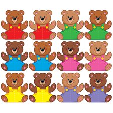 Mini Bears Variety Classic Accent (Set of 2)