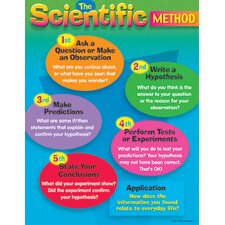The Scientific Method Grade 4 - 8 Chart (Set of 3)