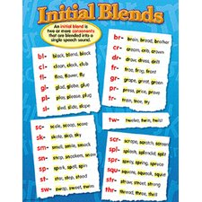 Initial Blends Chart (Set of 3)