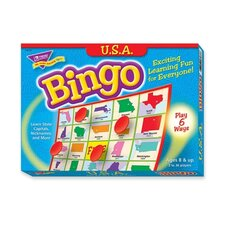 USA Bingo Game, 3-36 Players, 36 Cards/Mats