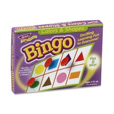 Colors And Shapes Bingo, For Ages 3 And Up