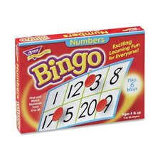 Numbers Bingo, For Ages 4 And Up
