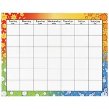 Four Seasons Wipe Off Monthly Calendar