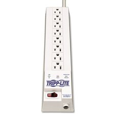 Surge Suppressor, 6 Outlets, 8ft Cord, 1260 Joules