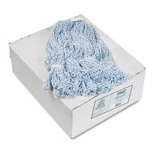 Four-Ply Floor-Finish Mop Heads, 12/Carton