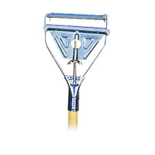 Quick Change Metal Head Wooden Mop Handle