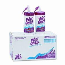 Wet Ones Antibacterial Moist Towelettes, 12/Carton