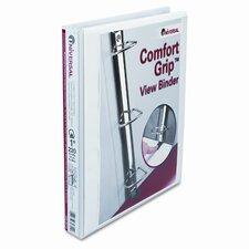 Comfort Grip Deluxe Plus D-Ring View Binder (Set of 2)