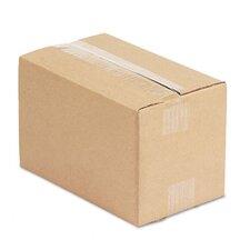 "Corrugated Kraft Fixed-Depth Shipping Carton, 25/Bundle (6"" H x 10"" W x 6"" D)"