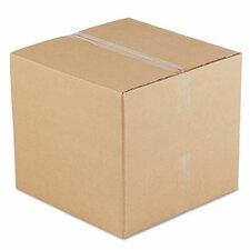"Corrugated Kraft Fixed-Depth Shipping Carton, 15/Bundle (36.5"" H x 35"" W x 5"" D)"