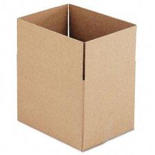 Corrugated Kraft Fixed-Depth Shipping Carton, 25/Bundle