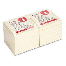 Fan-Folded Pop-Up Notes, 12 100-Sheet Pads/Pack (Set of 2)