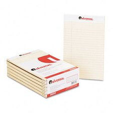 Colored Perforated Note Pads, Wide Rule, 5 x 8, 50-Sheet, 12 per pack