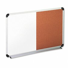 Universal Dry Erase Wall Mounted Combination Whiteboard