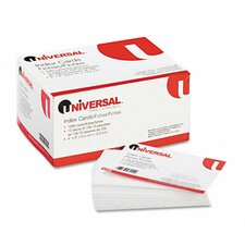 Unruled Index Cards, 4 x 6, White, 100 per Pack (Set of 5)