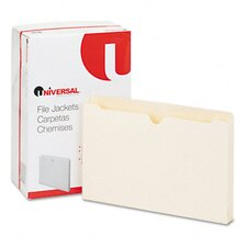 Economical File Jackets with 1.5 Expansion, 50/Box