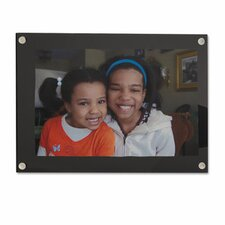 Acrylic Easel Back Magnetic Picture Frame
