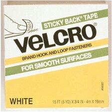 Velcro Tape 3/4 X 5 Yds White