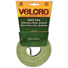 "2"" x 18"" Green Lawn and Garden Tree Tie Tape"