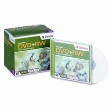 Dvd+Rw Discs, 4.7Gb, 4X, 10/Pack